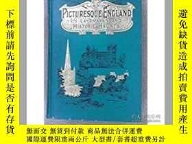 二手書博民逛書店Picturesque罕見England: Its landma