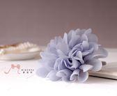 蜜諾菈Minerva‧現貨‧雪紡花朵髮束‧編號00358