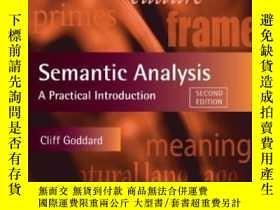 二手書博民逛書店Semantic罕見Analysis: A Practical