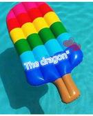 【葉子小舖】冰棒泳圈/造型泳圈/水上浮板/游泳戲水/海邊沙灘/氣墊浮板/創意泳圈