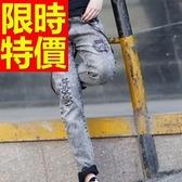 吊帶褲-新款獨特設計牛仔男長褲56i149【巴黎精品】