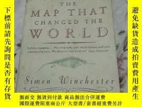 二手書博民逛書店The罕見Map That Changed the World