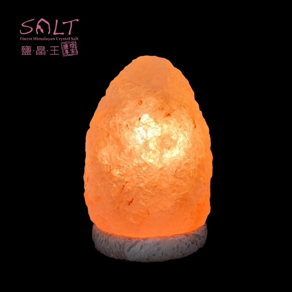 鹽燈專家【鹽晶王】正宗巴基斯坦玫瑰鹽燈5~6kg《紋石底座》《一入組》,開運必備。