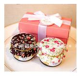 Double Love Pink盒「鄉村風布帽蜂蜜二入」禮盒.結婚婚禮小物.工商.禮贈品.來店禮.幸福朵朵