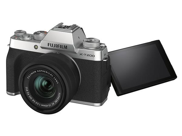 Fujifilm 全新機種 X-T200 微單眼相機 單機身 APS-C 無反相機 4K 30p 【平行輸入】 銀 / 灰(暗銀) / 金