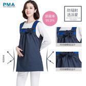 防輻射孕婦裝 防輻射服孕婦裝孕婦防輻射衣服懷孕期圍裙連身裙外穿大碼igo 歐萊爾藝術館