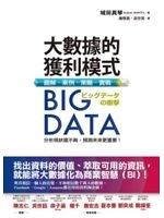 二手書《Big Data大數據的獲利模式:圖解‧案例‧策略‧實戰》 R2Y ISBN:9789866031366