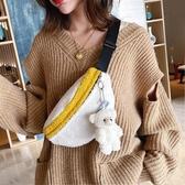 網紅ins潮羊羔毛絨小包包新款秋冬洋氣百搭韓版胸包女斜背包 【快速】