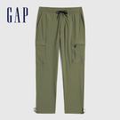 Gap男裝 運動速乾吸濕工裝褲 732664-綠色