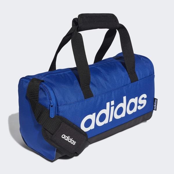 【現貨】Adidas Linear Duffel (XS) 旅行袋 手提袋 健身 藍【運動世界】GE1159