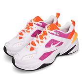 Nike Wmns M2K Tekno 白 粉紅 Dad Shoes 復古 老爸鞋 皮革 女鞋 運動鞋【PUMP306】 AO3108-104
