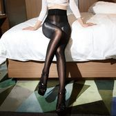 8d光澤神褲女油亮黑色絲襪一線襠超薄閃光高密爽滑性感情趣透視襪 滿天星