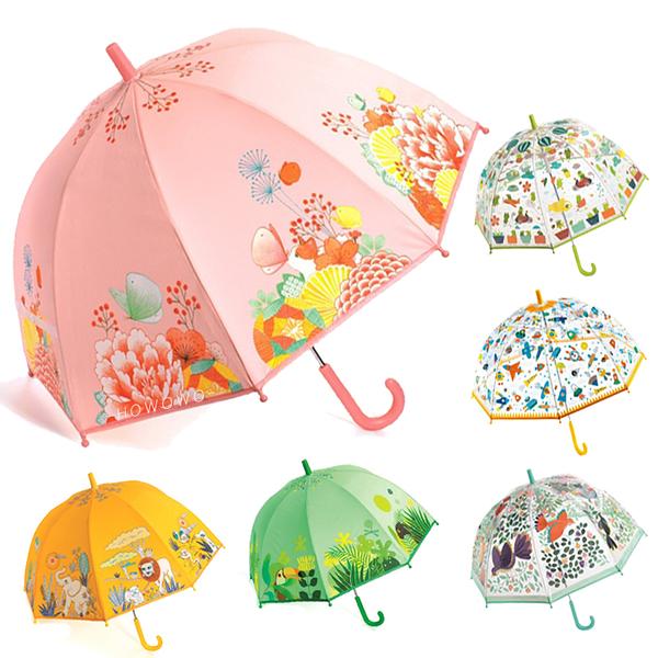 法國 DJECO 智荷 雨傘 (10款) 藝術插畫透明雨傘 兒童雨傘 7051