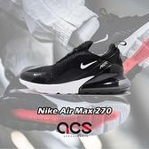 Nike 休閒鞋 Air Max 270 黑 白 男鞋 大氣墊 大型後跟氣墊 舒適緩震【ACS】 AH8050-002