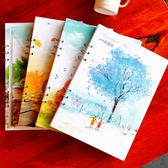 活頁素描本A4空白本子彩鉛速寫畫畫繪畫本手繪畫紙大圖畫本美術本igo「青木鋪子」