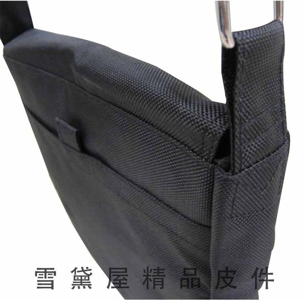 ~雪黛屋~CONFIDENCE 書包直立式台灣製造高單數防水尼龍布1680D可放A4資料夾扁包肩背側ACB171(小)