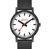 MONDAINE 瑞士國鐵essence系列腕錶-41mm/白 41110RB