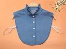 假領子襯衫穿搭假領片 立領荷葉領牛仔針織衫大學T外套[E1821]滿額送愛康衛生棉預購.朵曼堤洋行