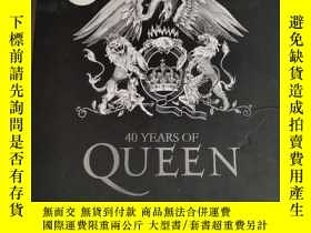 二手書博民逛書店40罕見Years of QueenY180607 Harry