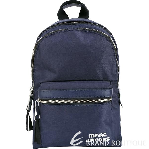 MARC JACOBS Trek Pack 輕質高性能尼龍後背包(中/深藍色) 1840042-34