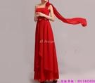 (45 Design) 訂製款 7天到貨禮法國蕾絲修身一字公主新娘婚紗禮服齊地蓬蓬顯瘦14