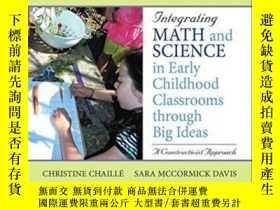 二手書博民逛書店Integrating罕見Math And Science In Early Childhood Classroo