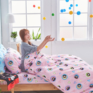 床包 / 雙人加大【熊本熊樂園-兩色可選】含兩件枕套  高密度磨毛布  戀家小舖台灣製ABF301