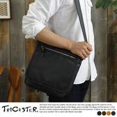 現貨【TRICKSTER】日本品牌 斜背包 掀蓋包 B5 側背包 單肩包 復古皮革感 都會潮流【tr125】