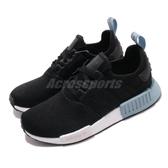 adidas 休閒鞋 NMD-R1 黑 藍 襪套式 女鞋 運動鞋 【PUMP306】 EE5178