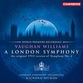 【停看聽音響唱片】【SACD】佛漢.威廉士:倫敦交響曲 (1913版)理查.希考克斯 指揮 倫敦交響樂團