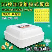 孵化器 小型孵化機全自動控溫器【55枚雙電全自動泡沫三用機】【36枚雙電全自動帶照蛋加濕】