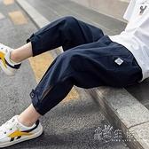 男童防蚊褲2021年夏季新款兒童夏裝薄款休閒九分褲男孩褲子外穿潮 蘇菲小店