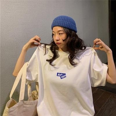 (下殺)彈性棉市場價短袖T恤印花【08SG06614】