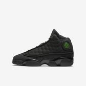Nike Air Jordan 13 Retro BG [884129-011] 大童鞋 喬丹 經典 潮流 休閒 黑