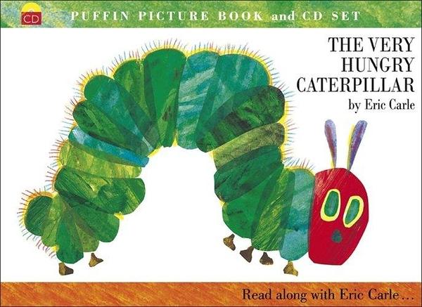 (二手書)Very Hungry Caterpillar (book + CD)