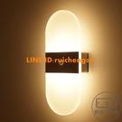 小夜燈感應燈家用過道led充電免線自動光控走廊樓道客廳【輕拍工作室】