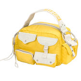 DIESEL 防水系列多口袋肩背包(黃色) DBA1064WYL