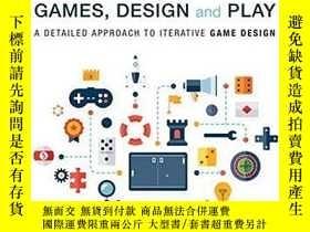 二手書博民逛書店Games,罕見Design And PlayY256260 Colleen Macklin Addison-