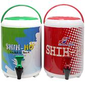 【8公升不鏽鋼手提冰桶】附水龍頭 304不鏽鋼 保溫桶 保冰桶 茶桶 啤酒桶 IC-826 [百貨通]