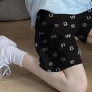 【Charm Beauty】夏季 運動短褲女 五分褲 寬鬆 直筒 外穿 休閑 字母 闊腿褲子 ins潮