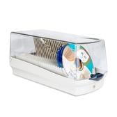 CD收納包 Actto安尚光盤盒CD包大容量DVD光碟盒CD盒碟片收納盒家用帶鎖盒子【東京衣秀】