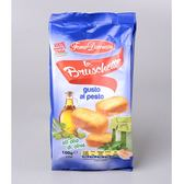 義大利【Forno Damiani】羅勒青醬脆麵包片100g(賞味期限:2020.04.02)