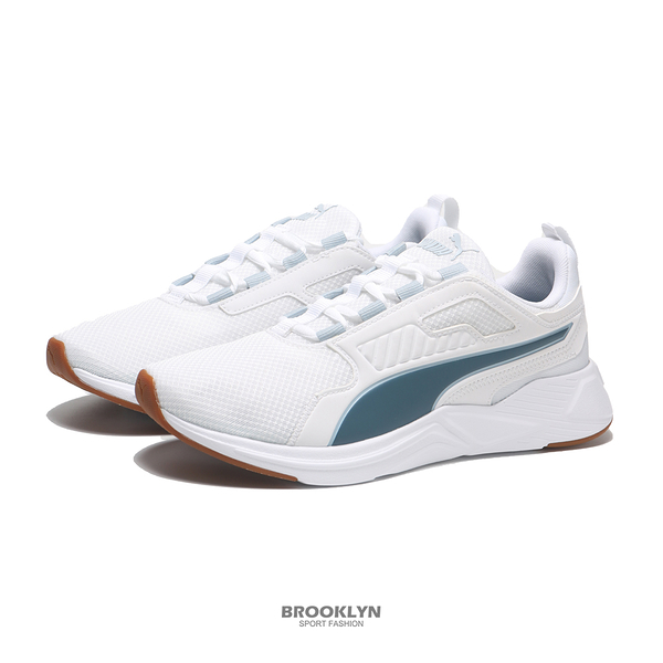 PUMA 慢跑鞋 DISPERSE XT REFINED 白藍 男 (布魯克林) 19523202
