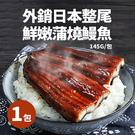 【屏聚美食】外銷日本整尾鮮嫩蒲燒鰻魚1包(145g/包)_第二件以上每件↘199元