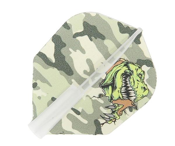 【EDGE SPORTS x CrossDesign x S4】Master Flight Jurassic Camouflage 鏢翼 DARTS