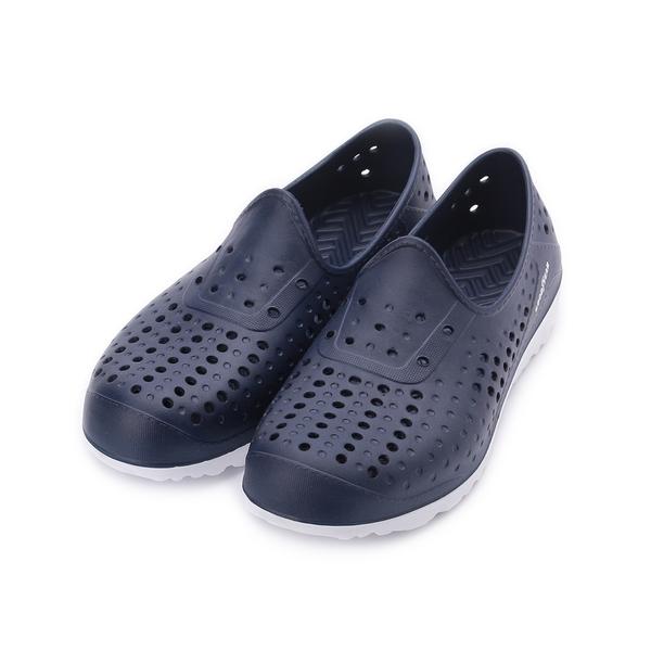 GOODYEAR 多功能洞洞懶人鞋 深藍 GAMS93707 男鞋