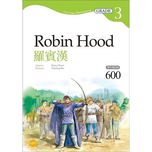 羅賓漢Robin Hood(Grade 3經典文學讀本)(2版)(25K+1MP