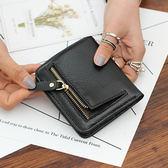 【O-ni O-ni】真皮新款韓版牛皮短夾手拿包女士新潮橫款方型錢包YY-0163-黑色