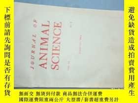 二手書博民逛書店JOURNAL罕見OF ANIMAL SCIENCE (動物科學雜誌)1984-02 vol58Y259485