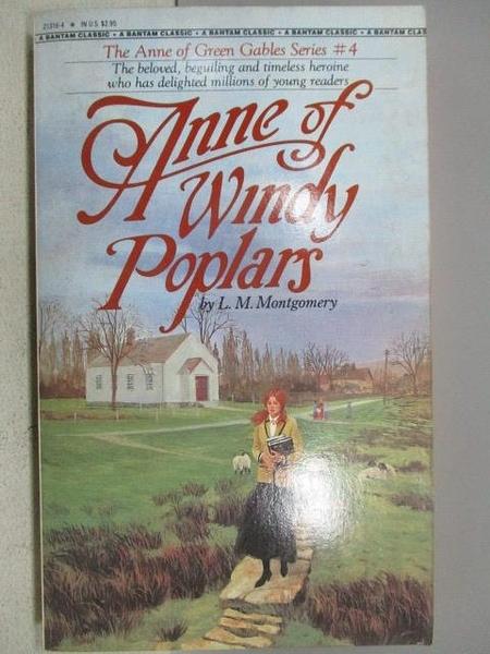 【書寶二手書T8/原文小說_MCG】Anne of Windy Poplars_L.M.Montgomery